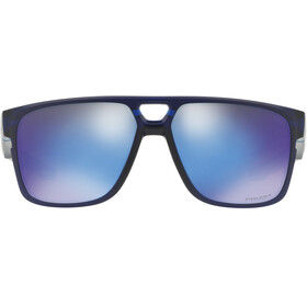 Oakley Crossrange Patch Sunglasses Matte Translucent Blue/Prizm Sapphire